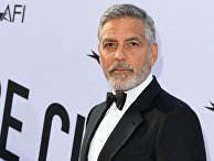 Американский актёр Джордж Клуни