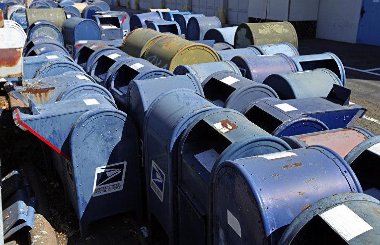 Старые почтовые ящики