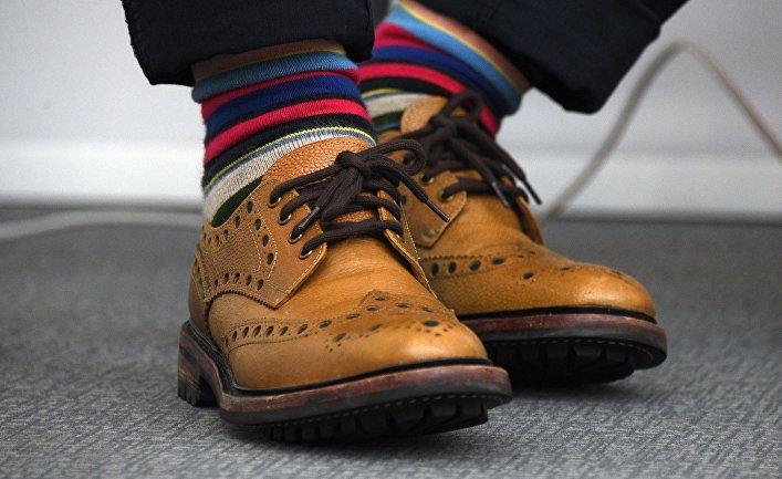 Обувь президента Федерации рестораторов и отельеров России, декана Факультета гостеприимства РАНХиГС Игоря Бухарова