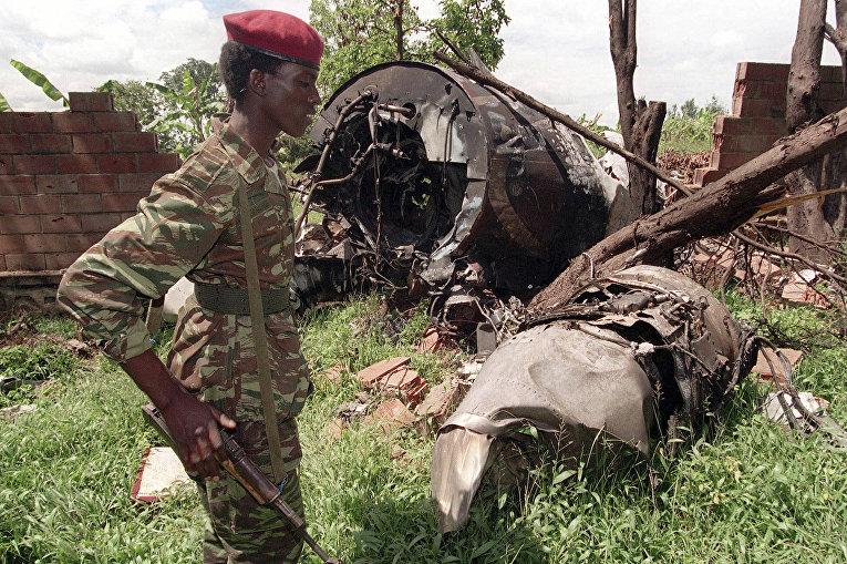 Повстанец Руандийского патриотического фронта