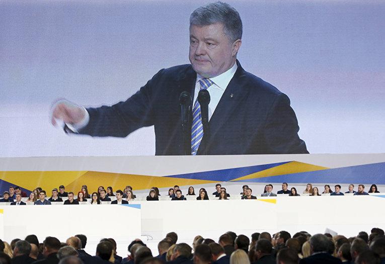 Президента Украины Петр Порошенко