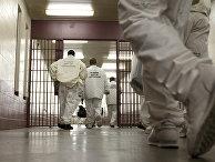 Заключенные тюрьмы Уильям Э. Дональдсон в Бессемере, Алабама, США
