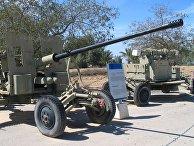 Советская зенитная пушка с-60