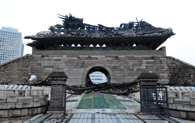 Ворота Суннемун в Южной Корее