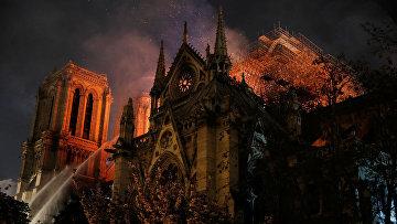 15 апреля 2019. Пожар в Соборе Парижской богоматери, Париж, Франция