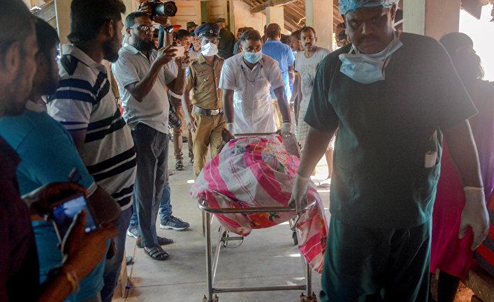 Взрывы на Шри-Ланке 21 апреля 2019
