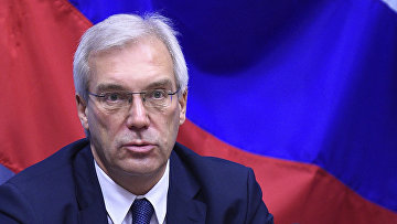 Заместитель министра иностранных дел России Александр Грушко