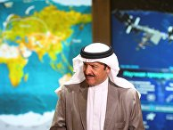 Саудовский принц посетил Центр управления полетами