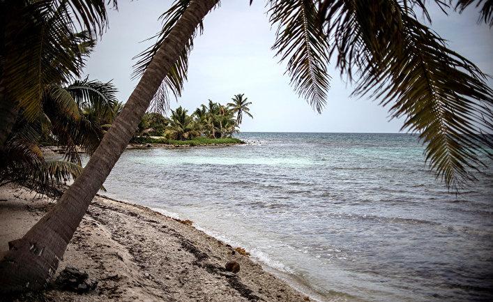 Пляж в Белиз