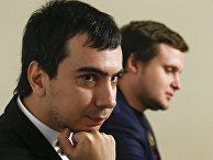 Пранкеры Вован (Владимир Кузнецов) и Лексус (Алексей Столяров) в Москве