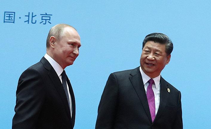 Рабочий визит президента РФ В. Путина в Китай. День второй