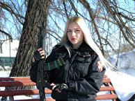 Прапорщик полиции Анна Храмцова