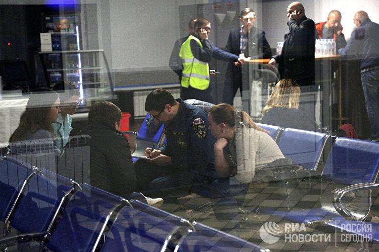 Ситуация в аэропорту Мурманска