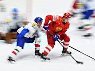 Хоккей. Чемпионат мира. Матч Россия - Италия