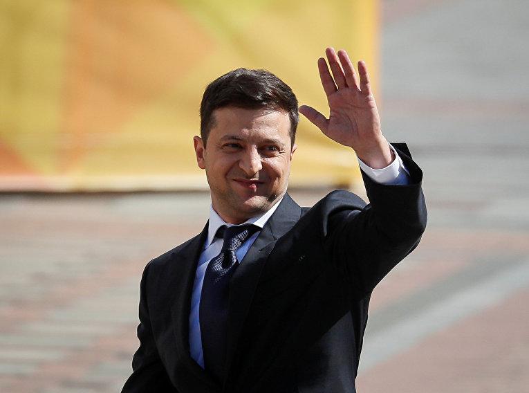 Избранный президент Украины Владимир Зеленский