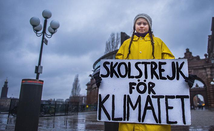 Протест климатического активиста Греты Тунберг, Швеция
