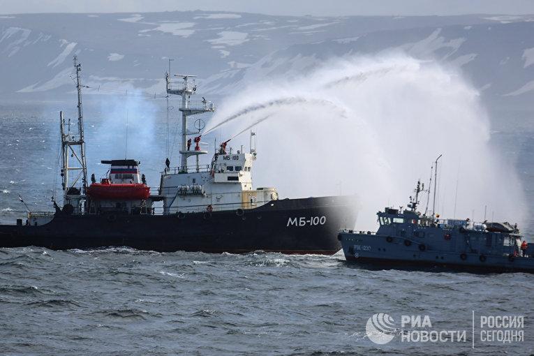 Морской буксир МБ_100