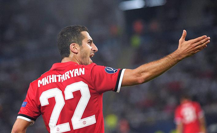 Армянский футболист Генрих Мхитарян