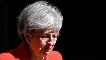 Тереза Мэй плачет во время заявления об отставке