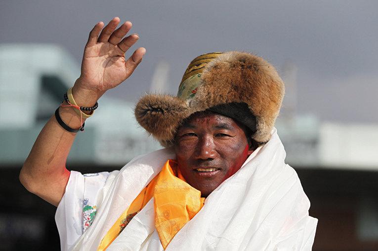 Непальский альпинист Ками Рита