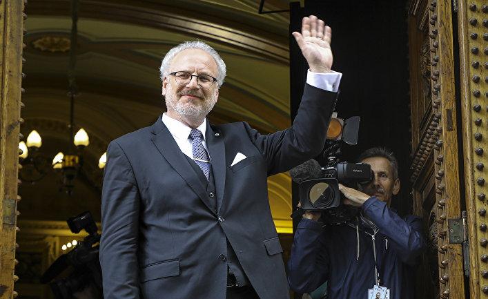 Новый президент Латвии Эгил Левитс