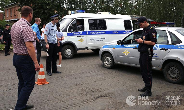 Взрывы на заводе Кристал в Дзержинске