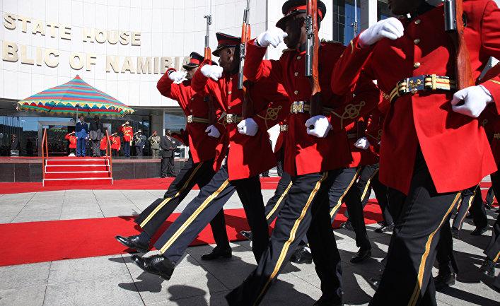 Официальный визит президента РФ Д.Медведева в Намибию