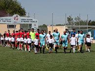Футболисты из Абхазии и Чамерии