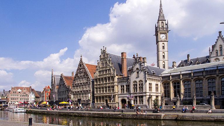 Манхэттен Средневековья: Гент (Бельгия)