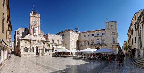 Полный жизни, но не толп туристов: Задар (Хорватия)