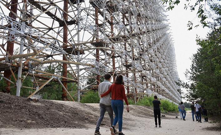 """Туристический """"бум"""" в Чернобыльской зоне отчуждения"""