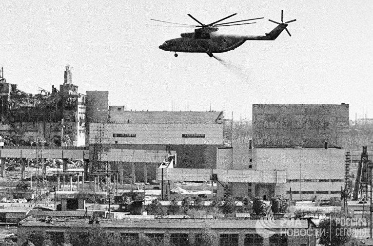 Дезактивация зданий Чернобыльской АЭС