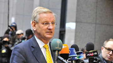 Экс-премьер Швеции Карл Бильдт