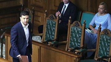 Заседание Конституционного суда в Киеве