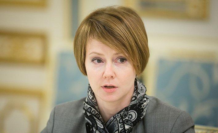Украинский дипломат Елена Владимировна Зеркаль