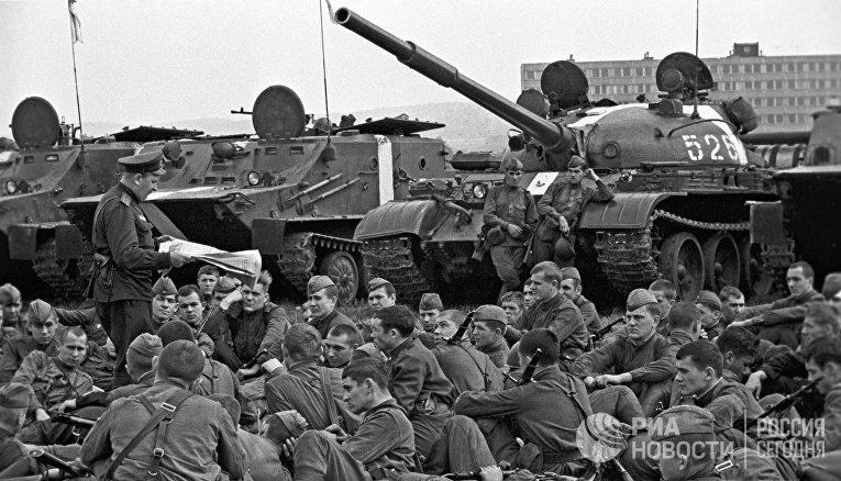 События в Чехословакии 1968 года
