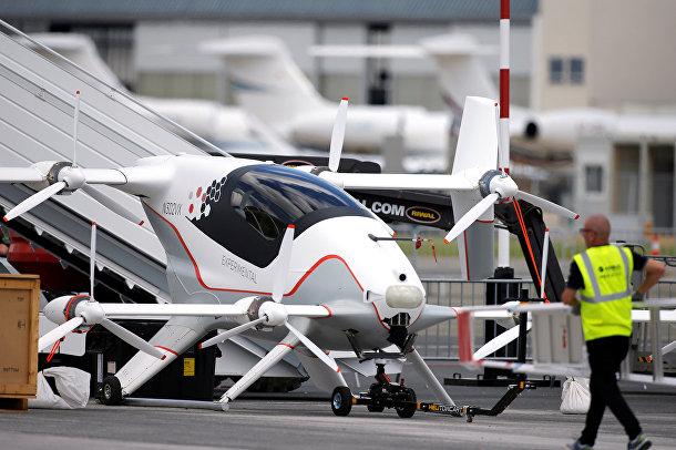 Vahana — экспериментальное летающее такси от Airbus