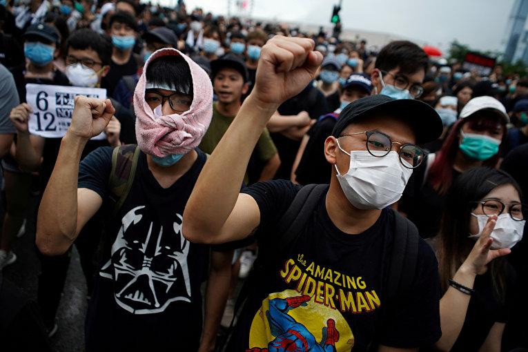17 июня 2019. Протесты в Гонконге