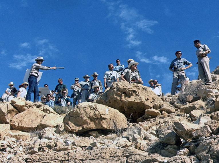 Как проходили испытания для программы «Аполлон»: Аризона в роли Луны