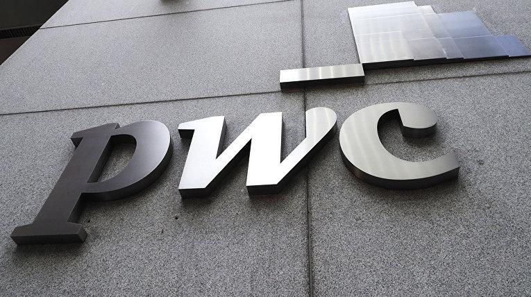 Логотип компании «Прайсуотерхаускуперс» (PwC)