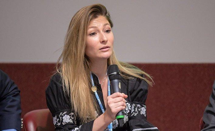 Первый заместитель министра информационной политики Украины Эмине Джапарова