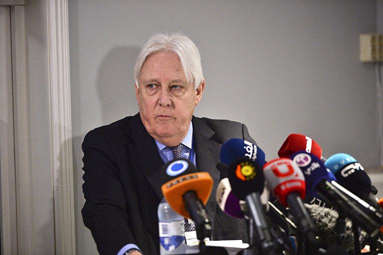 Генеральный секретарь по Йемену Мартин Гриффитс