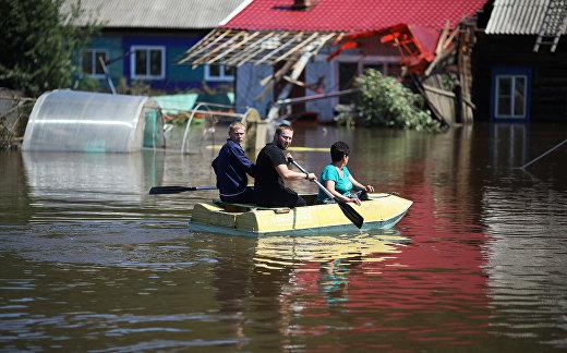Наводнение в Иркутской области