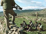 Задержанные армяне в деревне Спитакеш