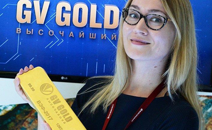 Стенд ПАО «Высочайший» (GVGold) наплощадке Восточного экономического форума воВладивостоке