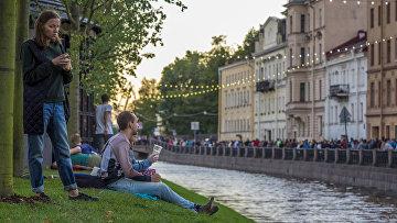 """Открытие культурного пространства """"Новая Голландия"""" в Санкт-Петербурге"""