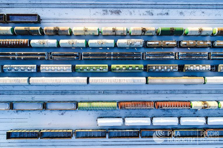 Железнодорожная сортировочная станция Бекасово