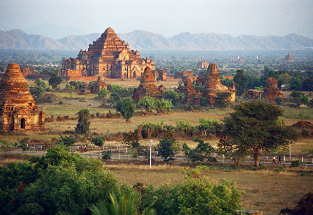 Древние храмы Багана, Мьянма