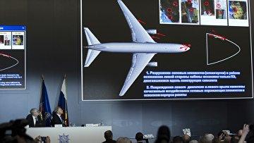 Пресс-конференция концерна Алмаз-Антей по делу MH17 в Москве
