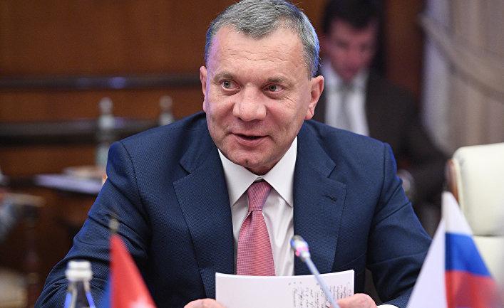 Заместитель председателя правительства РФ, курирующий Оборонно-промышленный комплекс, Юрий Борисов